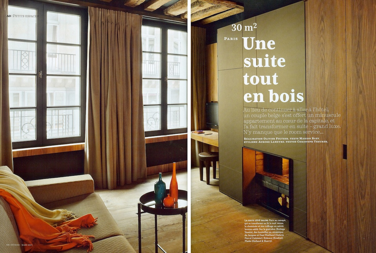jason mowen daily inspiration a 30m2 studio in paris. Black Bedroom Furniture Sets. Home Design Ideas